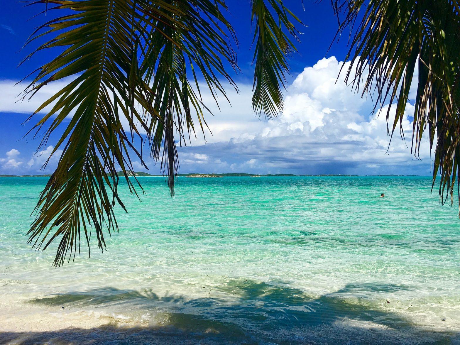 Plage dans les Bahamas