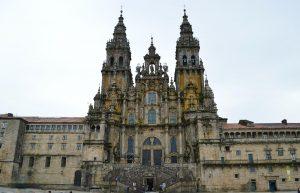 La Cathédrale de Saint Jacques de Compostelle.