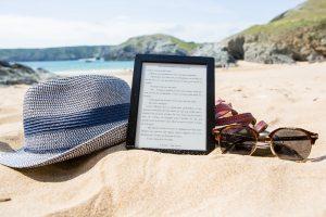 C'est l'ebook à la plage... aou cha-cha-cha !