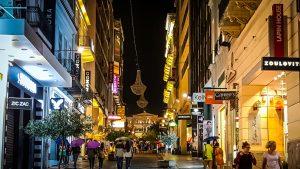 Athènes et sa vie nocturne