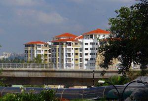 Bâtiments à Bangalore