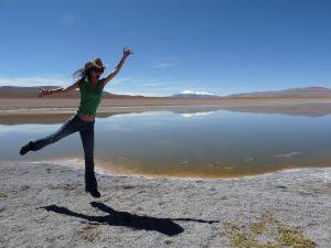 Karen Vigouroux en Bolivie