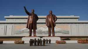 Statues de Kim Il-sung et Kim Jong-il